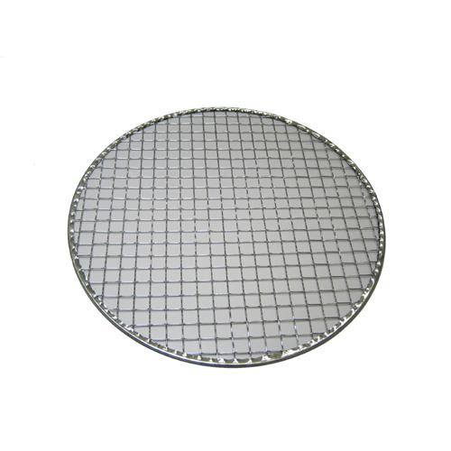 使い捨て金網 丸型(平) 24cm  200枚