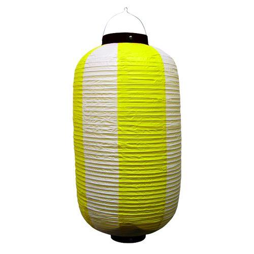 提灯・提燈(ちょうちん) 9170 祭装飾 黄白 9長