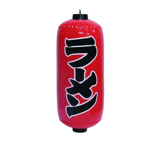ポップン提灯・提燈(ちょうちん) 9181 ラーメン 赤