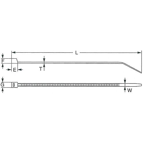 スタンダードタイ耐薬品タイプ SG-100P 25000本