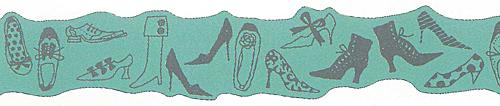 ★マスキングテープ 箔押し靴