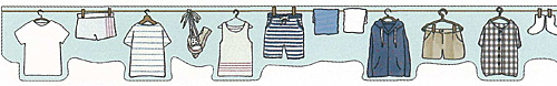 ★マスキングテープ 洗濯物