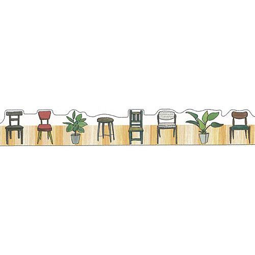 ★マスキングテープ 椅子