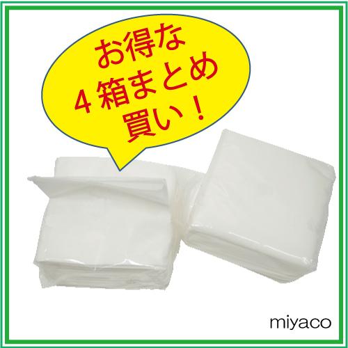 ■Half詰め替えティッシュ(100組) 30パック×4箱