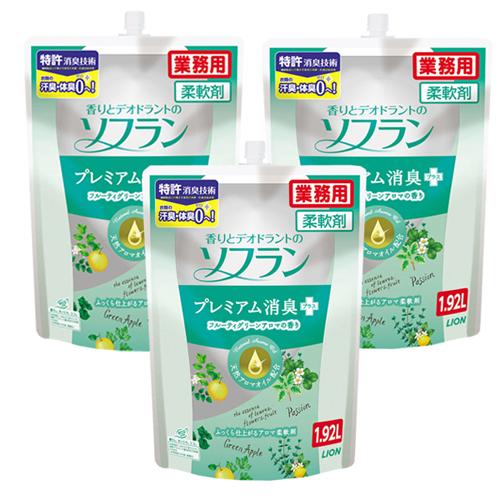 ソフラン プレミアム消臭 フルーティグリーンアロマの香り 1.92L 6袋入
