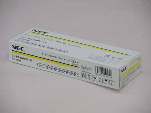 NEC(日本電気)PR-L5900C-11イエロー 純正