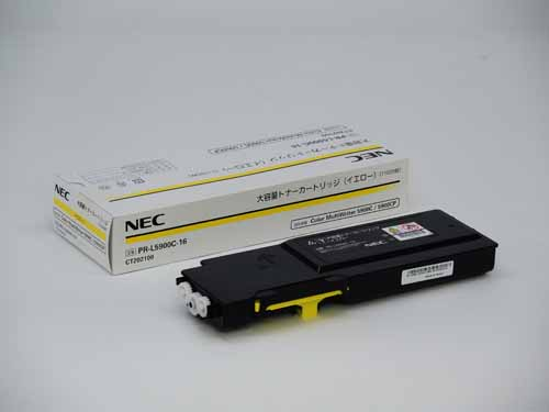NEC(日本電気)PR-L5900C-16大容量イエロー 純正