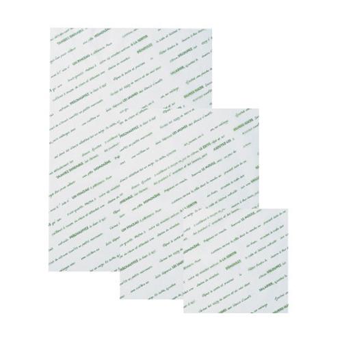 ★シリコングラシンシート スペシャリテ 254×381グリーン 500枚