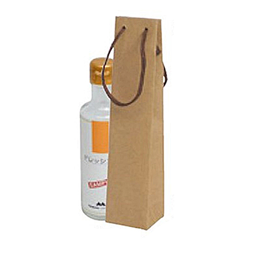 (K-1365)ボトルクラフト酒瓶用手提げ袋50パイ 100枚