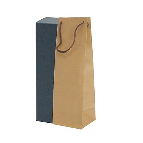 (K-1370)ボトルクラフト酒瓶用手提げ袋100パイ 100枚
