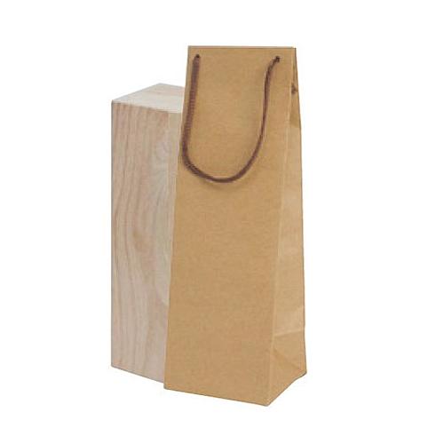(K-1371)ボトルクラフト酒瓶用手提げ袋110パイ 100枚