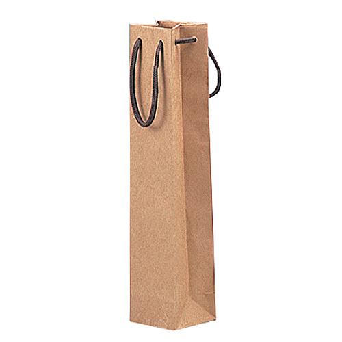 (K-288A)ハーフワイン手提袋 茶 200枚