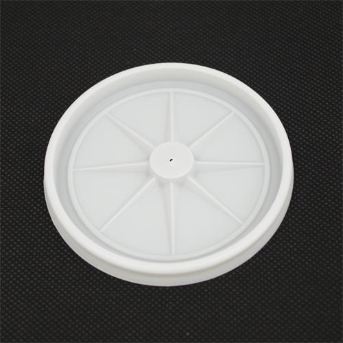 デキシー80パイ用乳白LID(針穴) 2000枚