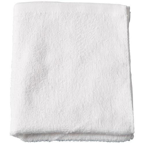 業務用綿タオル(55g) 34cm×85cm ホワイト 10枚セット