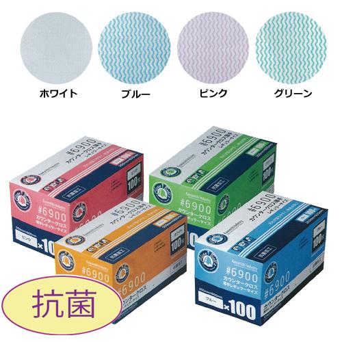 KAWANISHI 6900 カウンタークロス薄手 レギュラーサイズ 1200枚