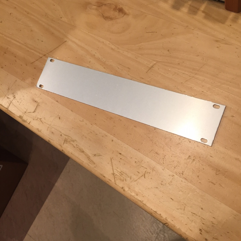 Intellijel | Blank Panel 1U x42HP