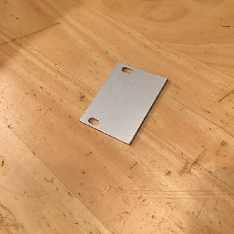 Intellijel | Blank Panel 1U x6HP