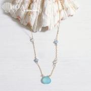 hp_n56���ӡ������饹�Τ褦��ŷ���Ф�14KGF�ͥå��쥹�� Beach Glass