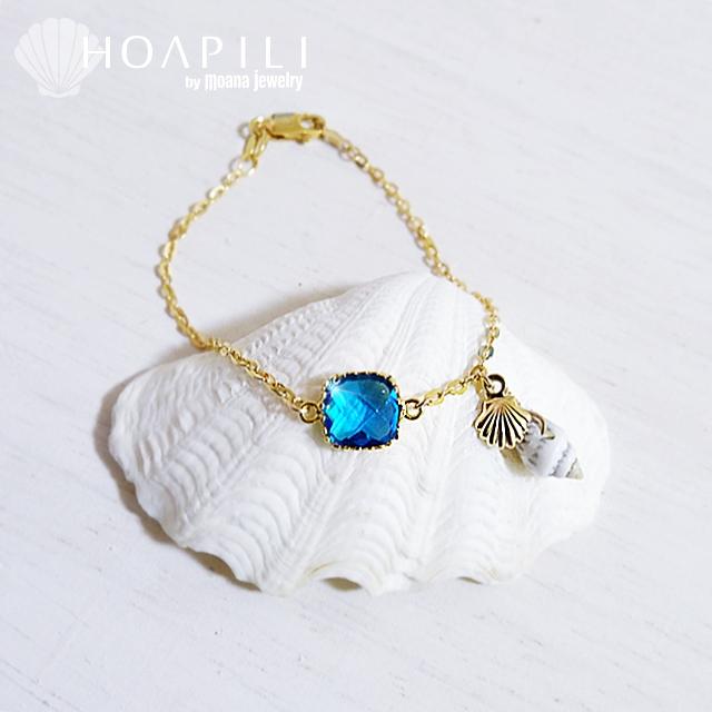 moana_hp14kgfb14 14KGFブレスレット Sea Diva(Blue)