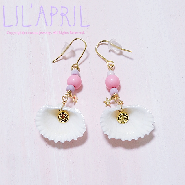 moana_lilapril_p3 ●LIL'APRIL● 貝・星・SMILEピアス