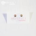 hp_p131 小さいシェルの14KGFピアス  Little Shell