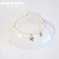 moana_b96 14KGFチャームの高瀬貝ブレスレット Sea Shell&Star Fish