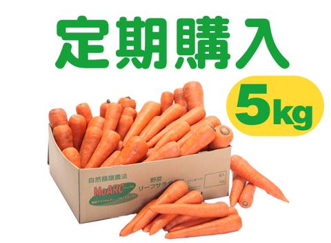 【お徳な定期購入】ジュース用ニンジン(5kg)