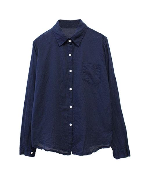 コットンカラーシャツ/6カラー