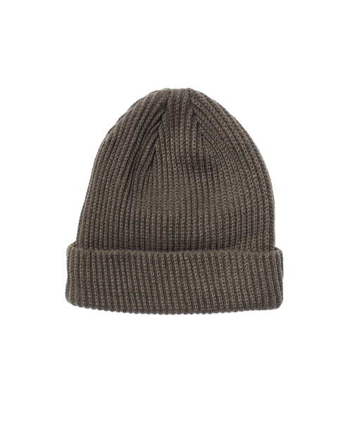 リブニット帽/6カラー