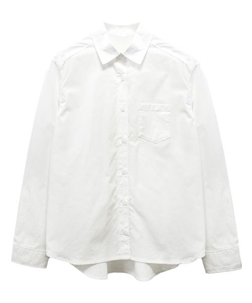 ベーシックブロードコットンシャツ/3カラー