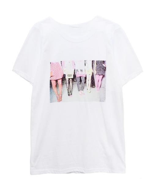 半袖プリントTシャツ/2カラー