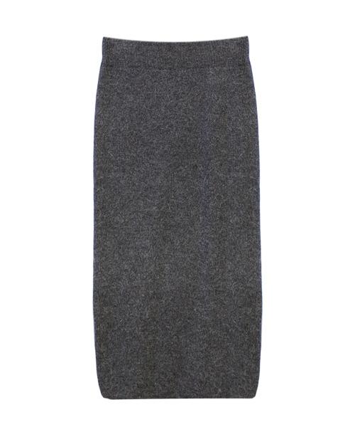 ロングニットスカート/2カラー
