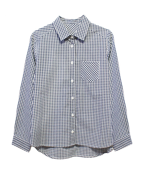 ギンガムチェックシャツ/2カラー