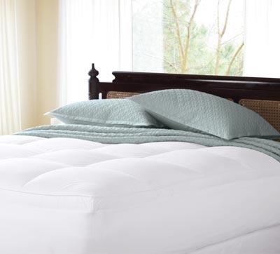 シンセティックベッドパッド / クイーン / (ゴム付き 高さ53cmまでのマットレスに対応・厚さ5cm)