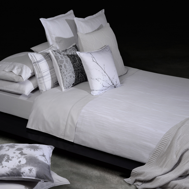 ボックスシーツ1枚  掛け布団カバー1枚  封筒型スタンダード枕カバー2枚 / Home Concept(ホームコンセプト) /  メロディー
