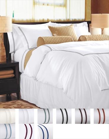 掛け布団カバー1枚 額なし枕カバー2枚 / キング / 400TC ホテル