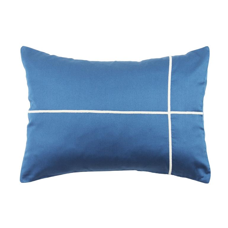 マグノリア クッションカバー リトルブルー  / ブドワール / 30×40cm