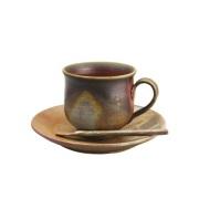 コーヒーカップ(底すぼみタイプ) 桟切×桟切