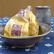 お皿(五寸皿) 桟切×牡丹餅