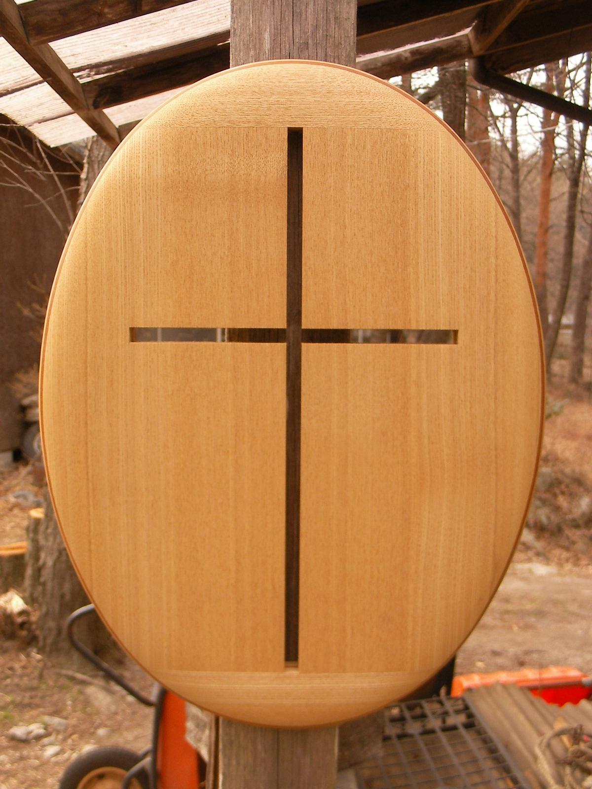 手作り 木製 十字架