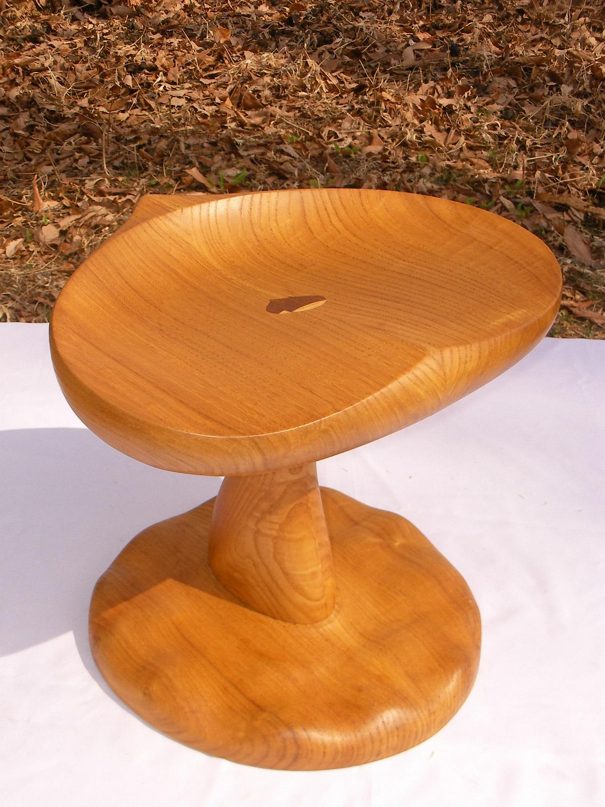 手作り 木製 スツール くりのいす