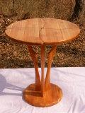 手作り 木製 テーブル しあわせのテーブル