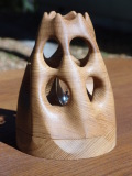 手作り 木製 ランプ