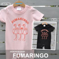 フラミンゴ+りんごのユニークなキャラクターロンパース「FUMARINGO(フマリンゴ)」