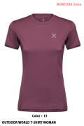 MONTURA OUTDOOR WORLD T-SHIRT WOMAN (MTGN20W)-13