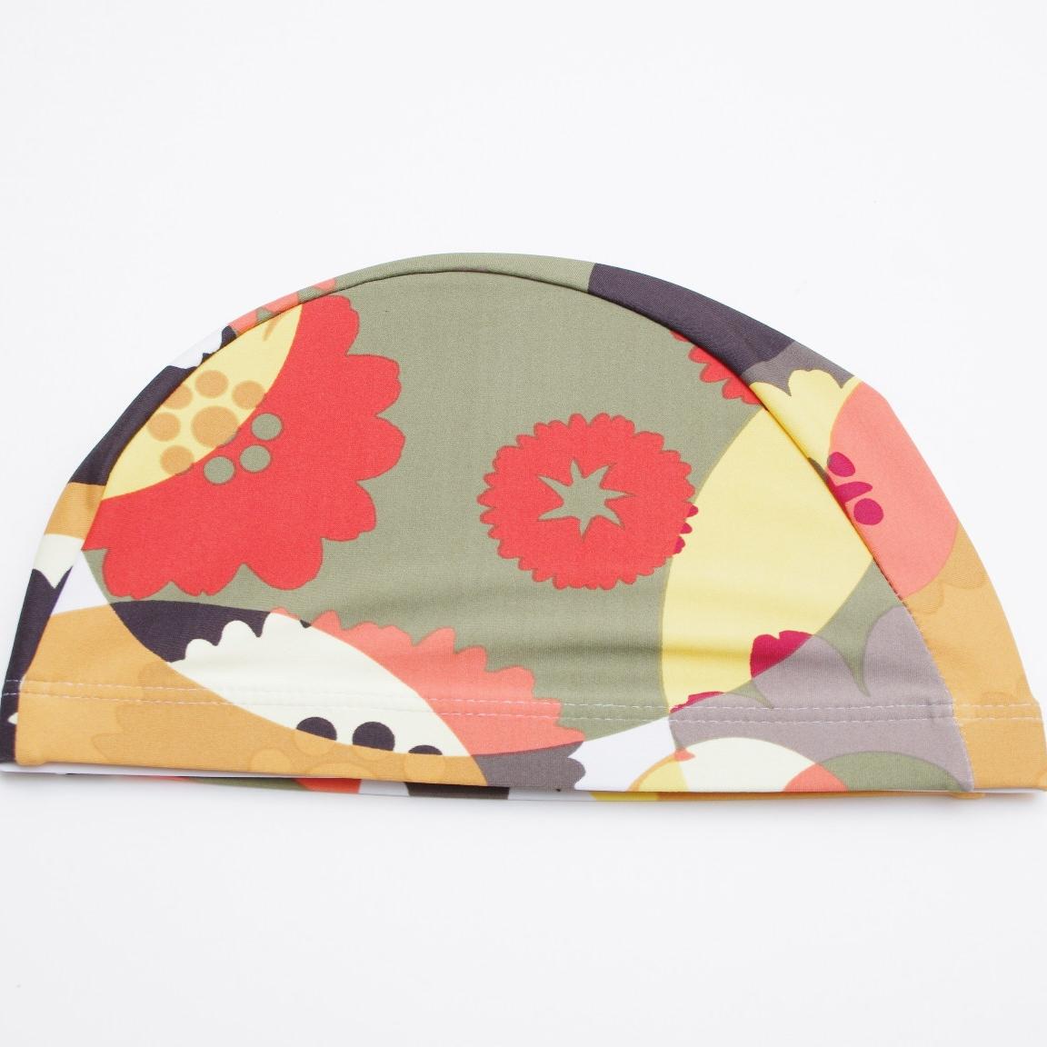 水泳帽レディース スイムキャップ 大人用 フリーサイズ F164755