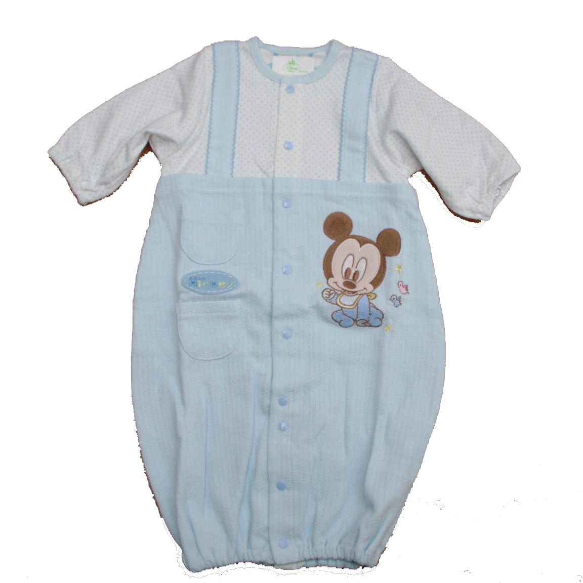 ディズニー ミッキーさん ドレス&カバーオール50〜70cm(A6601-80)