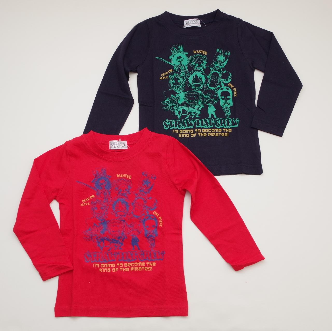 ONE PIECE(ワンピース) 長袖Tシャツ100-130cm( 54J300)