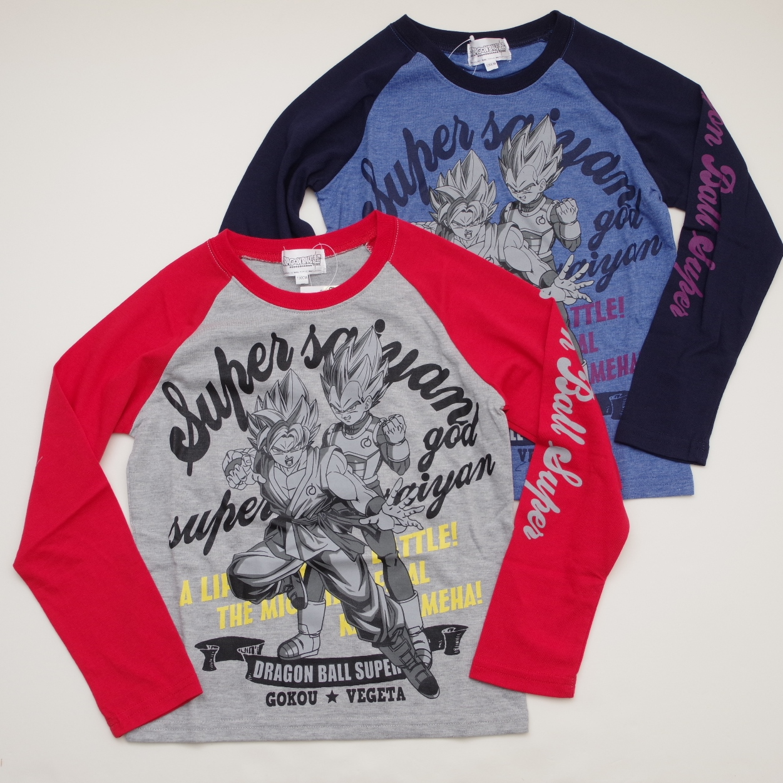 ドラゴンボール 長袖Tシャツ130-160cm(52B413)