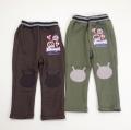 アンパンマン バイキンマン  膝あて付きシャギー ロングパンツ 90cm/95cm(FA7456)